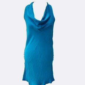 Michael Stars Modal Silk Cowl Neck Dress M NWT